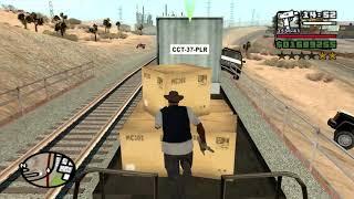 Chain Game Fat CJ mod - GTA San Andreas - Green Goo - Airstrip mission 5