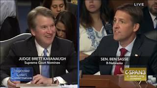 Ben Sasse: Round 2 Questions in Kavanaugh Hearing
