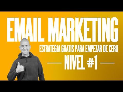 Cómo Hacer Email Marketing Desde Cero   Estrategia Paso A Paso Gratis Mailchimp Klaviyo Getresponse