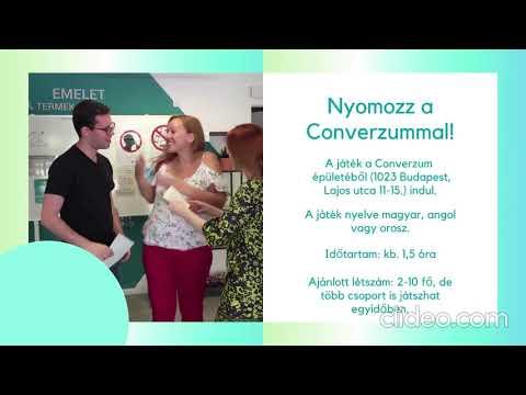 Converzum - a nyelvi közösségi tér  - Nyomozz a Converzummal! JÁTÉK