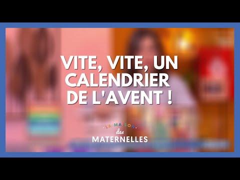 Vite, vite ! Un calendrier de l'Avent ! - La Maison des maternelles #LMDM