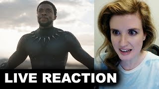 Black Panther Teaser Trailer REACTION