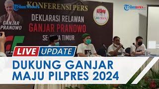 Relawan Jokowi Jatim Deklarasi Nyatakan Dukungan untuk Ganjar Pranowo-Erick Thohir Maju Pilpres 2024
