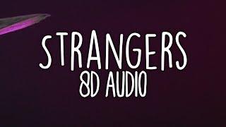 Jonas Brothers - Strangers (8D Audio) 🎧