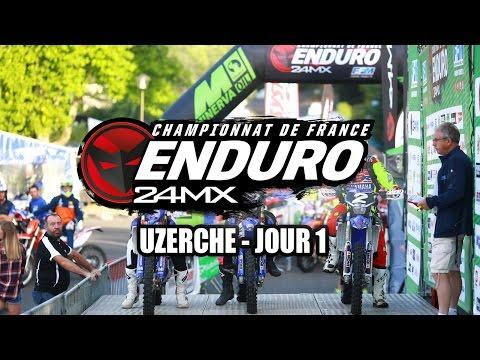 Résumé CDF enduro 2016 Urzeche - J1