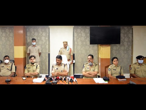Srushti Universal Toddler Abduction Case City Police Commissioner RK Meena Comments | Visakhapatnam | Vizagvision