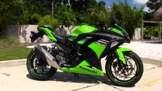 2013 Kawasaki EX300B Ninja Special Edition - Used motorcycle for sale