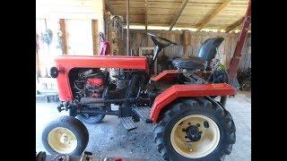 Премьера моего трактора самодельного;)