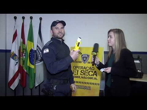 Guarda Municipal de Florianópolis.-bafometro passivo - Guarda Municipal de Florianópolis.