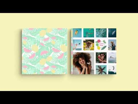Inspiration for Your Photo Book Cover – 'My summer vacation'