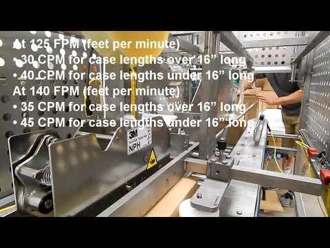 Selladora Sanitaria de alta velocidad TBS-100FC HS 50+