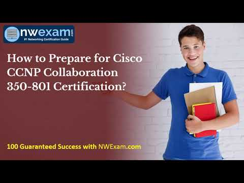 Cisco CCNP Collaboration 350-801 Certification Practice Test ...