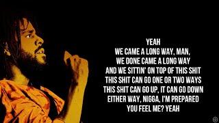 J. Cole - I N T E R L U D E (Lyrics)