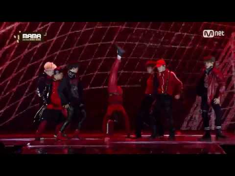 161202 2016 MAMA NCT PERFORMANCE CUT