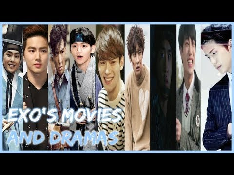 Exo  39 s movies and drama collection