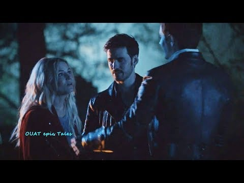 Once Upon A Time 7x02 Henry Happy on Emma Pregnancy- Hook Stabs Other Hook Season 7 Episode 2