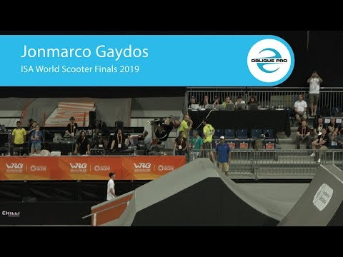 Jonmarco Gaydos - ISA Men's World Scooter Semi Finals 2019