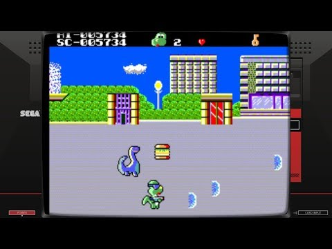 Dinosaur Dooley, The (Master System - Daou Infosys - 1992)