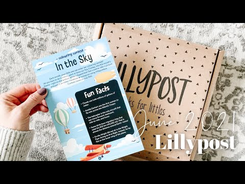 Lillypost Unboxing June 2021