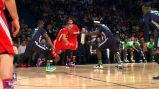 Смотреть онлайн «Матч всех звезд НБА 2014». Лучшие моменты