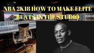 NBA 2K18 | RECORDING STUDIO LOCATION - HOW TO MAKE BEATS IN THE RECORDING STUDIO!!!