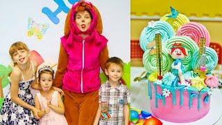 KidsFM День рождения Анюты, 4 года! (16 серия на KidsFM) видео для детей happy birthday to you