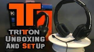 Tritton Kunai Headset - Unboxing & Setup