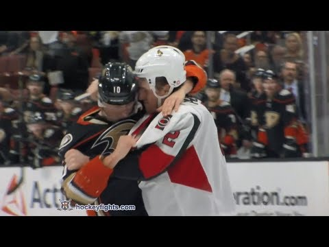 Corey Perry vs. Dion Phaneuf