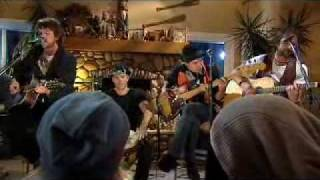 The Trews - Paranoid Freak (Live & Acoustic in Whistler)