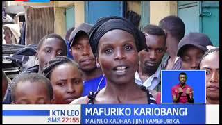 Wakazi wa Kariobangi wanahofia mkurupuko wa maradhi baada ya bomba la kupitisha uchafu kupasuka