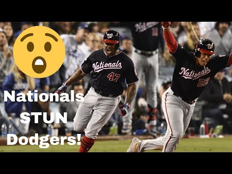 BREAKING - Nationals STUN Dodgers, Advance to NLCS!!!