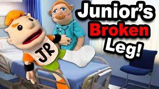 Phim SML: Junior's Broken Leg!