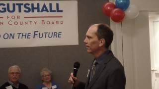 Erik Gutshall for Arlington County Board Campaign Kickoff Speech (3/10/17)