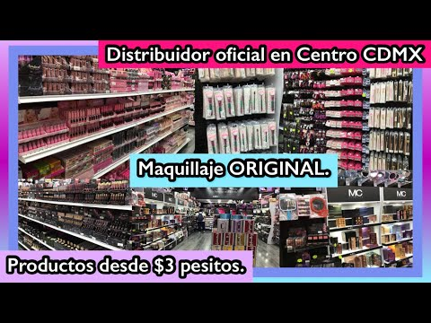 DISTRIBUIDOR DIRECTO EN CENTRO CDMX | MC COSMETICS Y NUEVA MARCA DAPOP | LOS MEJORES PRECIOS.
