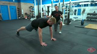 Core Exercises - Shoulder Touches - OL Healthy Living Quick Tip