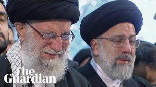 Iran's leader weeps publically over death of General