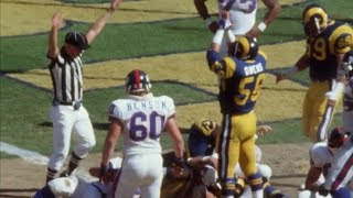 Flashback: Rams Score 3 SAFETIES in ONE QUARTER vs The Giants in 1984