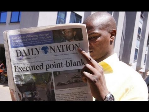 Kenya's most popular newspaper - The Daily Nation