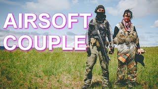 AIRSOFT COUPLE GAMEPLAY | Jet DesertFox & Unicorn Leah