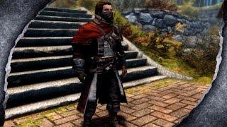 ▶Skyrim Remastered: Assassin's Creed Rogue Assassin killer outfit ♦️MOD SHOWCASE♦️ | Killerkev ✔️