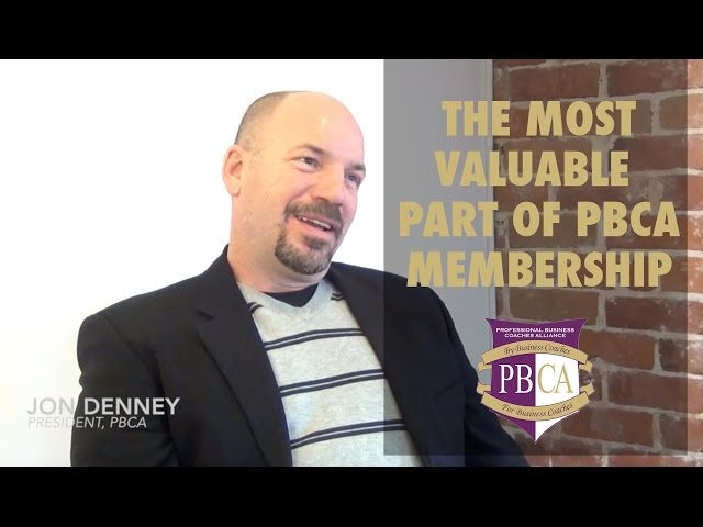 The Most Valuable Part of PBCA Membership