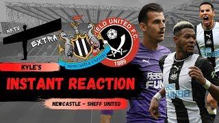 Instant reaction | Newcastle 3-0 Sheff United