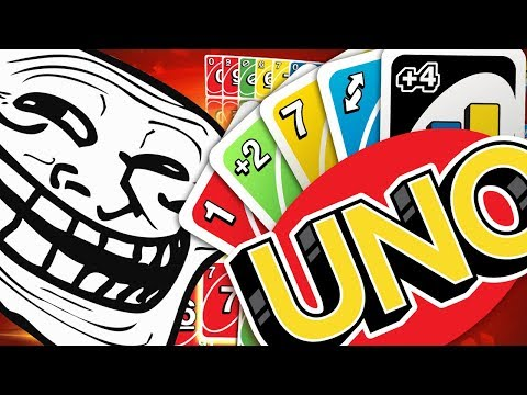 THE BIGGEST RAGE GAME! - UNO (видео)