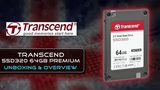 Transcend SSD320 64GB Premium SSD {Unboxing + First Look}