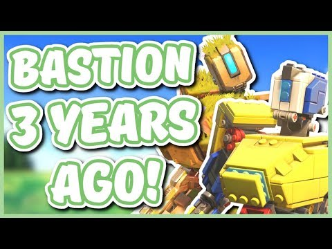 Overwatch - BASTION 3 YEARS AGO (The History of Bastion)