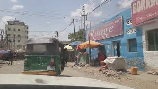 preview picture of video 'A short noon cruise through Borama Somaliland'