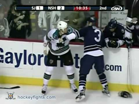 Jody Shelley vs Wade Belak