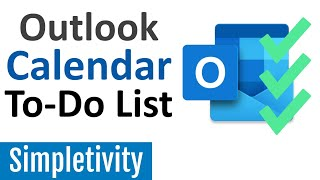 How to Use Outlook Calendar as a To-Do List (Tips & Tricks)