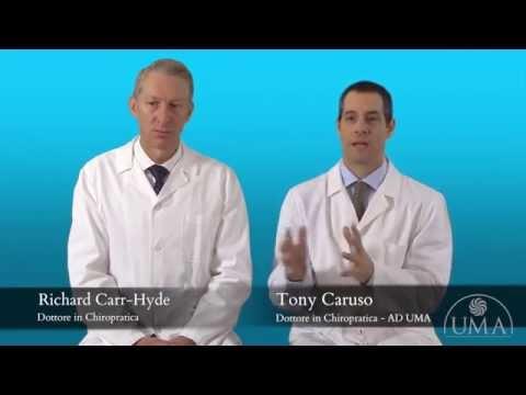 Storia medica cervicale e lombare osteocondrosi