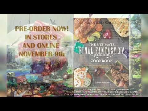 《最終幻想 14》官方公開了一本遊戲的「終極食譜」